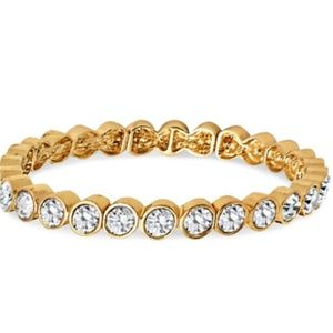 Gold & Crystal Bracelet SUPERB NWT